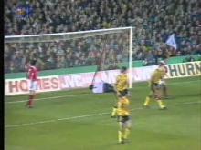 Arsenal - Benfica Champions Cup, 2nd Leg, 6 November 1991